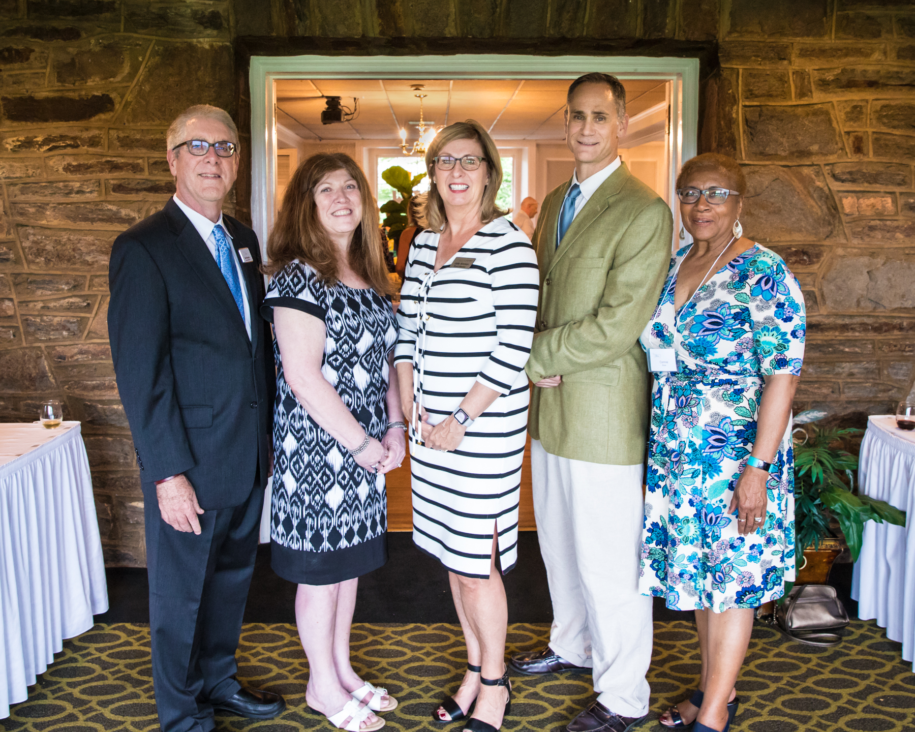Board Members (from left): Dan Murphy, Dana Dovberg (Treasurer), Julie Ammon (President), Al Iaccoca, and Connie Rose.